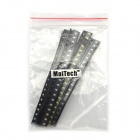 MaiTech 2.0 x 1.2mm 0805 SMD LED Light-emitting Diode pacchetto - Black(100 PCS)