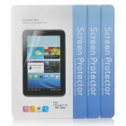 Protective Clear PET Screen Guard Film for Samsung Galaxy Tab 3 Lite T110 - Transparent (3 PCS)
