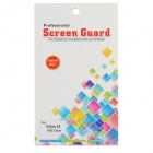 Protective Clear PET Screen Protector for Samsung Galaxy S5 - Transparent