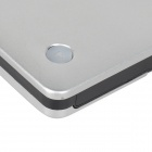 USB 3.0 External Optical Drive Enclosure Case for Laptop - Silver