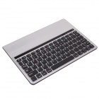 Multifunctional bluetooth keyboard w/holder-silver+black