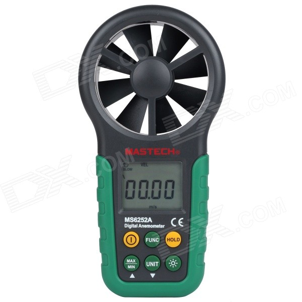 MASTECH MS6252A digital anemometer / flow tester