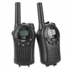 Beier-668-13-LCD-05W-45V-22-Channel-Walkie-Talkie-Set-for-Children-Black-(2-PCS)
