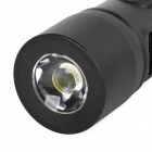 Multi-Functional Mobile 1400mAh Power Bank / LED 2-Mode Flashlight / Car Charger Adapter - Black