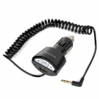 Car Bluetooth v3.0 Audio Adapter w/ 3.5mm Plug for Cell Phone - Black