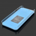Protective PC Dual Back Case for IPHONE 5S / 5 - Blue