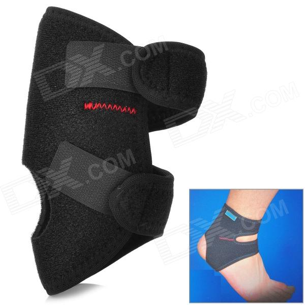 Adjustable Ankle Protector Support - Black