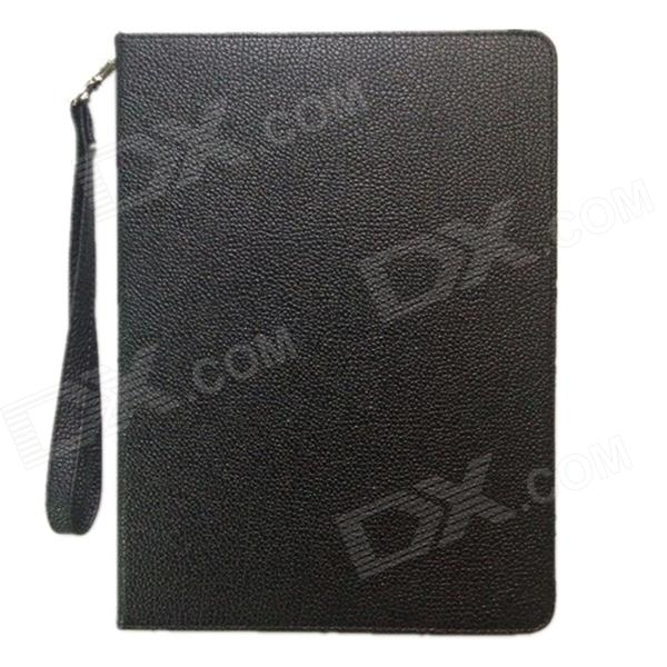 360 Degree Rotating PU Leather Smart Case with Card Slot for IPAD Air
