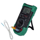 MASTECH MS8264 Digital Multimeter w/ Temperature / Frequency / Capacity / Transistor - Green + Black