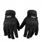 OUMILY-Outdoor-Tactical-Full-Finger-Gloves-Black-(Size-L-Pair)