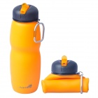 AceCamp-1544-Multipurpose-Foldable-Silicone-Water-Bottle-w-Sport-Lid-Orange-2b-Black