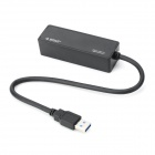 USB 3.0 Wired Broadcom NetXtreme Gigabit Ethernet USB to 10 / 100 / 1000 Network Card - Black