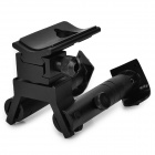 HB-05 Fold-up Weaver Bipod for Rifles / Shotguns - Black