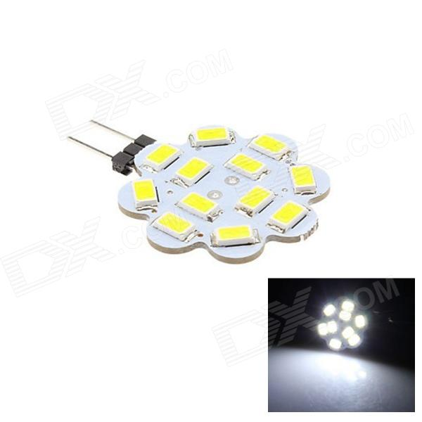 G4 3W 80lm 6500K 12 x SMD 5630 LED White Light Lamp - White/warm white  (DC 12V)