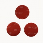 32mm Waterproof High Durable 3M Super Glue for Sport Camera / GoPro Hero 4/2 / 3 / 3+ - Red (6 PCS)
