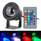 10W-RGB-Underwater-Lamp-w-24-key-Remote-Controller-Black