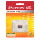 Transcend Premium Micro SDXC TF Flash Memory Card - Black (64GB)