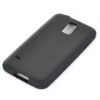 Protective Silicone Back Case for Samsung Galaxy S5 - Black