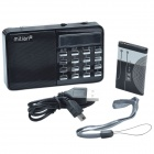 MiTian Q10 1.8'' LCD Multi-media Music Player w/ Radio/ TF Card Function - Black