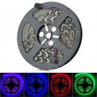 Waterproof 72W 3800lm 300-SMD 5050 LED RGB Light Flexible Light Strip – Black (5m / DC 12V)