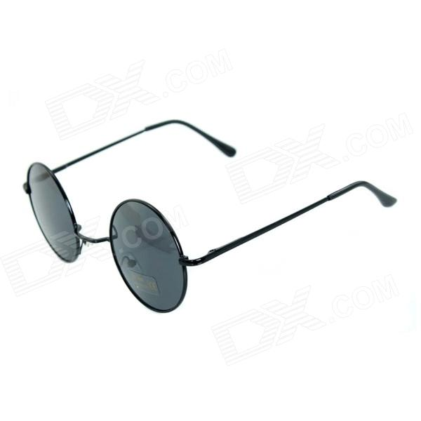 Retro UV400 Protection Sunglasses - BlackSunglasses<br>Frame ColorBlackLens ColorGreyQuantity1 DX.PCM.Model.AttributeModel.UnitShade Of ColorBlackFrame MaterialPCLens MaterialResinProtectionUV400GenderUnisexSuitable forAdultsFrame Height5.2 DX.PCM.Model.AttributeModel.UnitLens Width5.1 DX.PCM.Model.AttributeModel.UnitBridge Width2.5 DX.PCM.Model.AttributeModel.UnitOverall Width of Frame14.3 DX.PCM.Model.AttributeModel.UnitPacking List1 x Retro Sunglasses1 x Case<br>
