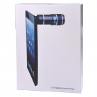 IA12X-W 12 X Telephoto Lens w / fondello per IPAD AIR - bianco
