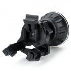 CF01+50H Universal 360 Degree Rotation Suction Cup Car Air Vent Holder for Cellphone - Black