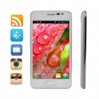 "S2 MTK6572 Dual-Core WCDMA Andriod 4.2 Bar Phone w/ 4.3"", 512MB RAM, 1GB ROM - White"