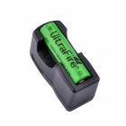 UltraFire FY-300 18650 3.7V 1800mAh Li-ion Rechargeable Battery w/ US Plugss Charger - Black