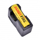 FandyFire ZS-10 18650 3.7V 1300mAh Lithium Rechargeable Battery w/ US Plugss Charger - Yellow
