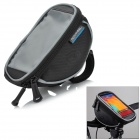 ROSWHEEL Bike Bicycle Handlebar Cellphone Bag w/ Touch Screen Window