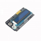 Seeed 1602 LCD Key Shield Expansion Board w/ Power Supply for Arduino UNO R3 / Mega 2560 R3 - Black