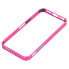 S-What Protective Metal Bumper Frame for IPHONE 5 / 5S - Deep Pink