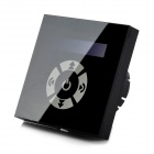 LED Touch Screen Dimmer Controller - Black (DC 12~24V)