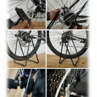Practical Bicycle Parking Stent - Black