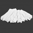 ZYST001 Multifunction Cotton Operating Gloves - White (12 Pair)