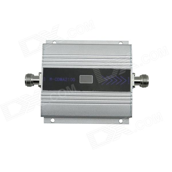 "2100Mz 1920~1990MHz / 2110~2180MHz 1.5"" LCD Display Cell Phone Signal Booster Amplifier - Grey"