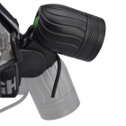 RichFire RF-545 XM-L T6 + XP-E R2 930lm 4-Mode White + Green Bike Headlight - Black (4 x 18650)