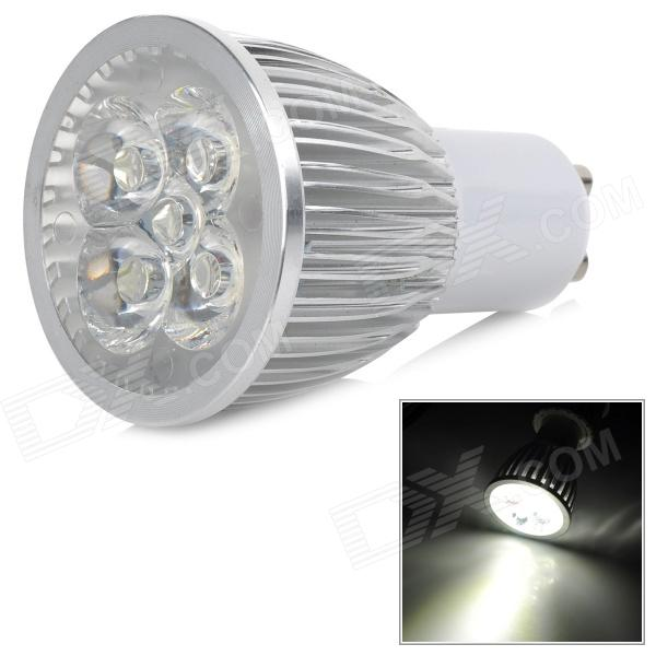 GU10 5W 650lm 6500K 5-LED White Light Dimmable Lamp - White + Silver Grey (AC 220V)GU10<br>Form  ColorWhite + Silver Grey + Multi-ColoredColor BINWhiteBrandN/AModelN/AMaterialAluminumQuantity1 DX.PCM.Model.AttributeModel.UnitPower5WRated VoltageAC 220 DX.PCM.Model.AttributeModel.UnitConnector TypeGU10Actual Lumens350-650 DX.PCM.Model.AttributeModel.UnitEmitter TypeLEDTotal Emitters5Color Temperature6500KDimmableYesWavelength0CertificationNoOther FeaturesDimming parameters: 10%~100%Packing List1 x Lamp<br>