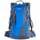 Creeper YD-187 Outdoor Sports Oxford Backpack w/ Rainproof cover - Blue (40L)