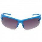 Men's Stylish Outdoor UV400 Goggles Sunglasses for Cycling - Blue + Black