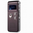 CM112-Rechargeable-Digital-Voice-Recorder-MP3-Player-Wine-Red-(8GB)