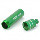 WLXY WL-013 Mini Hliník Storage Bottle - Green