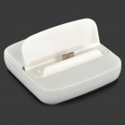 Charging Dock Station w/ Charging Data Cable for Samsung Galaxy S5 - White