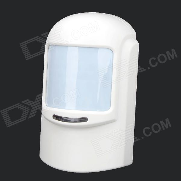 PH-WWHW 433MHz Wireless PIR Detector w/ Antenna - White