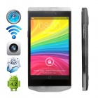 "CUBOT Android 4.2.2 WCDMA Bar Phone w/ 4.3"" IPS, Wi-Fi, GPS and Dual-SIM - Silver"