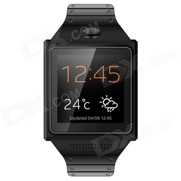 SOMAKE Smart Watch Phone MTK6577 Dual Core Anroid 4.0 watch cellphone w/ 5.0MP / WIFI / Bluetooth