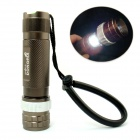 DONGRUI 2-LED 100lm 3-Mode White Tactical Flashlight - Brown (1 x 18650)