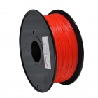 PLA-FLUO-R-1.75-1.0 Fluorescent Series 1.75mm ABS Filament 3D Printing Cable - Red (350m)