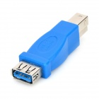 USB 3.0 Female to Male Printer Adapter - Blue